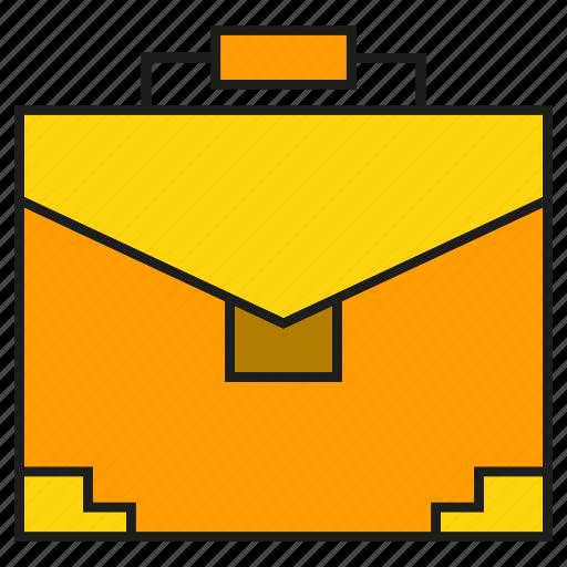 bag, briefcase, business bag, handbag icon