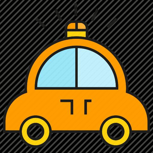 car, crisis, emergency, police car, transportation, vehicle icon