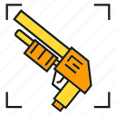 armor, arms, gun, shotgun, weapon icon