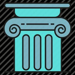 pillar, pole, roman icon