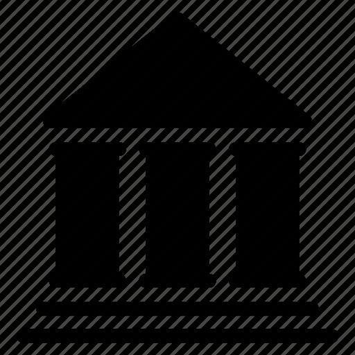 building, court, estate, justice icon