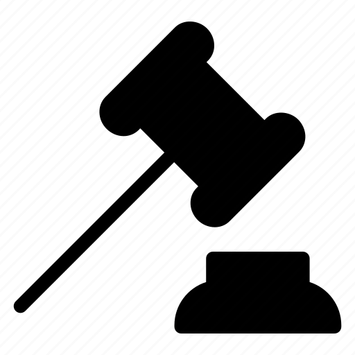 Court, hammer, justice, law icon - Download on Iconfinder