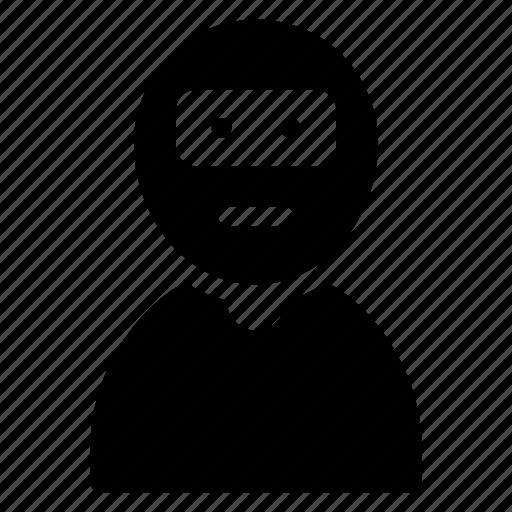 avatar, male, man, prison icon