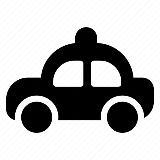 automobile, car, police, transport icon