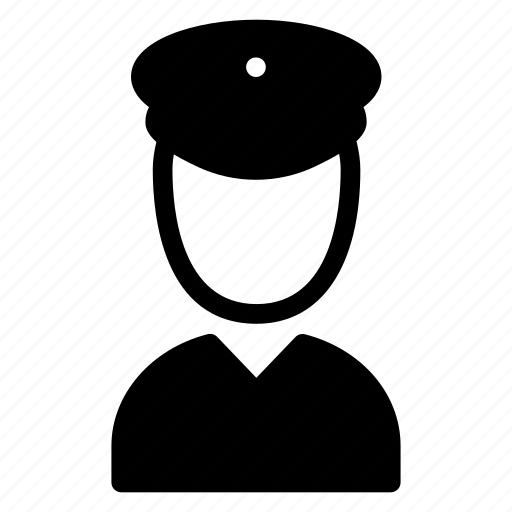 guard, officer, police, security icon