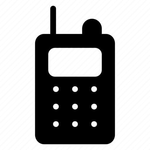 communication, talkie, transceiver, walkie icon