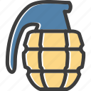 army, bomb, grenade, weapon