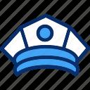 cap, hat, police
