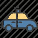 car, emergency, police, security