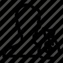 avatar, cash, money, user icon