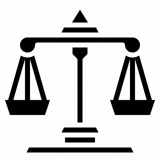 balance, judge, justice, law, laws, scale icon