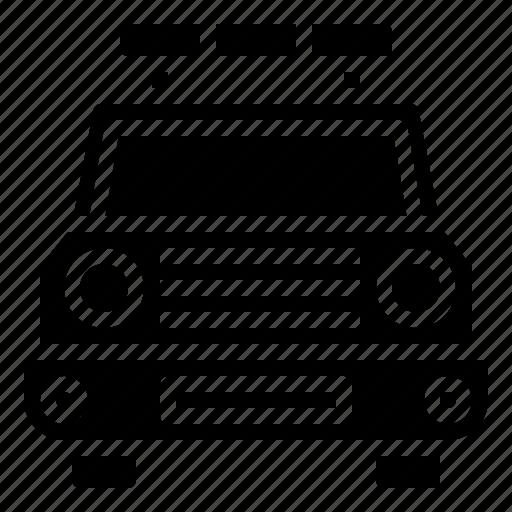 Automobile, car, emergency, patrol, police, security, transportation icon - Download on Iconfinder