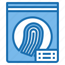 act, charter, fingerprint, law, legislation, security icon