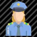 woman, police