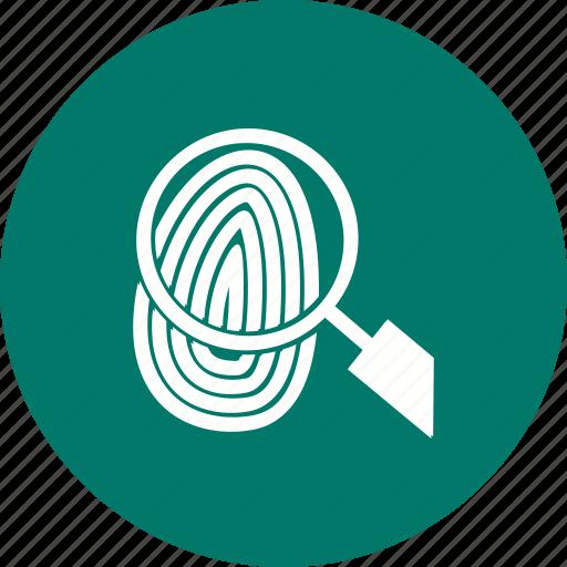 finger, fingerprint, identity, people, print, thumbprint, unique icon