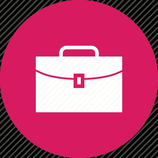 briefcase, business, case, cash, handle, money, suitcase icon
