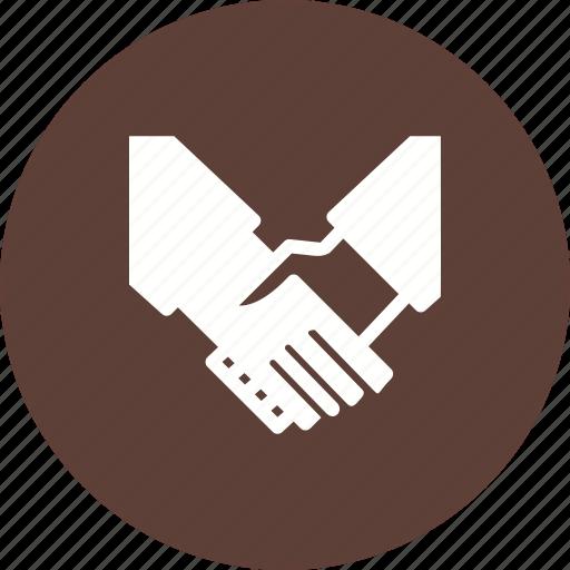 business, handshake, meeting, people, professional, success, team icon