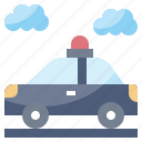 automobile, car, emergency, police, security, transportation icon