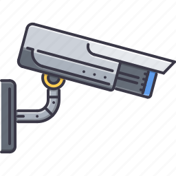 camera, court, jurisprudence, law, police, security, video icon