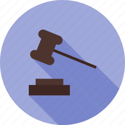 arbitration, court, crime, holding, law, order, responsibility icon