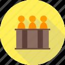 arbitration, court, holding, judge, law, panel, responsibility