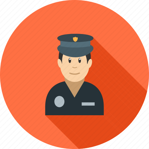 car, hat, helmet, officer, police, policeman, uniform icon