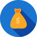 bag, banking, currency, dollar, money, payment icon