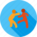 cage, contact, dangerous, fence, fight, fighting, ring