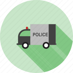 emergency, highway, police, security, truck, van, vehicle icon