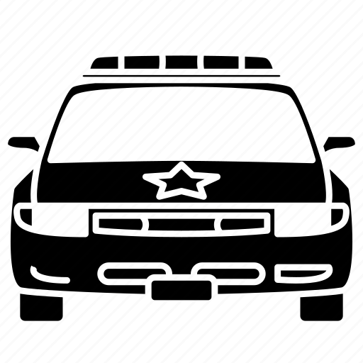 car, law, police, police car, security, security car, vehicle icon