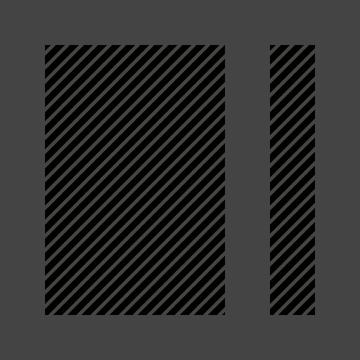 customization, grid, layout icon