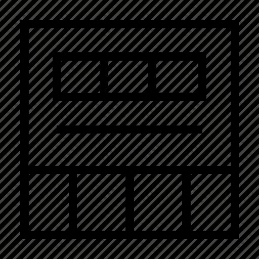 interface, layout, ui, ux, web icon