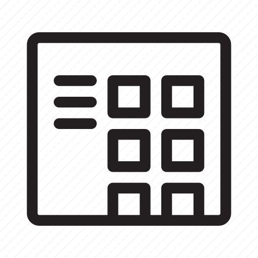 blog, layout, website icon