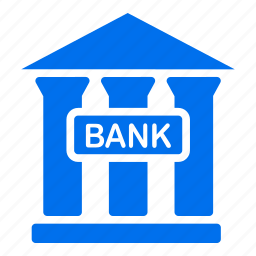 bank, banking, cash, finance, institution, investment, money icon