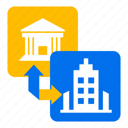 building, change, city, company, house, office, province icon