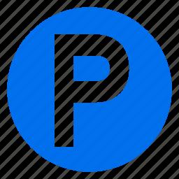 park, parking, parkstation, sign, square, station icon