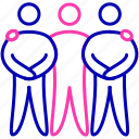 academic, competition, group icon, interpersonal skills, team, team mate icon