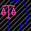 balance, equilibrium, human, integrity, mind icon icon