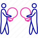 business, collaborative, commitment, cooperation, partner, spirit, teamwork icon icon
