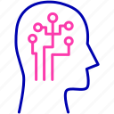 creative mind, innovation, innovative mind, intelligent icon icon