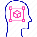 smart, growth, developing, training icon, improvement, brain, mind icon