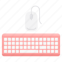 click, computer, cursor, device, keyboard, mouse, technology icon
