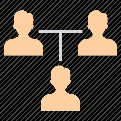 account, avatar, hierarchy, person, profile, structure, user icon