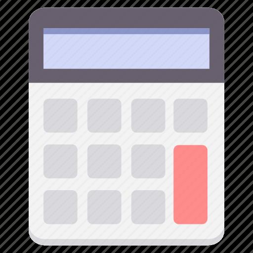 accounting, business, calculate, calculation, calculator, finance, mathematics icon