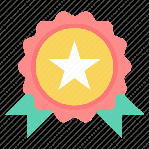 award, badge, medal, prize, winner icon