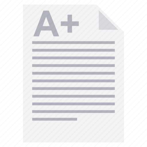 a plus, a+, chart, report, result, results, search icon