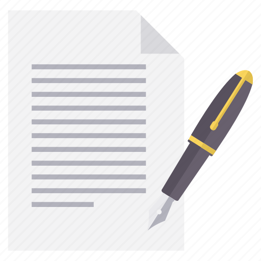 document, format, page, pen, write, writing icon