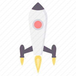 business, launch, misille, office, rocket, startup icon