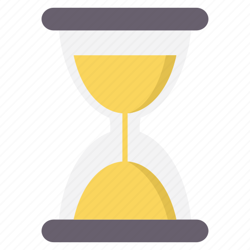 clock, hour, hourglass, sandglass, stopwatch, timer icon