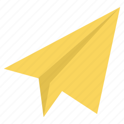 document, mail, message, paper, paper plane, send, sheet icon